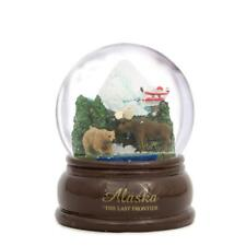 Alaska Snowdome Snow Globe-New -Topline - 65 Mm