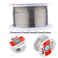 50g 0.3-0.6mm Tin Lead Roll 60/40 Rosin Core Flux Solder Wire cored Soldering WD