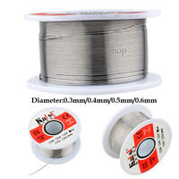 50g 0.3mm-0.6mm Tin Lead Roll 60/40 Rosin Core Flux Solder Wire cored Soldering