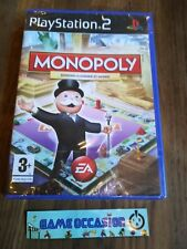 MONOPOLY EDITIONS CLASSIQUE ET MONDE PS2 PLAYSTATION 2 SONY  PAL FR NEUF