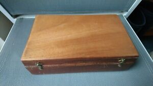 Fly Fishing - Wooden Trout Fly Box - Vintage