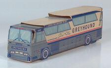 "Vintage 1968 Greyhound Supercruiser Cardboard Bus MC6 9"" Scale Model Chicago"