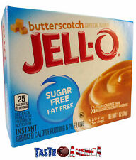 Jell-O Butterscotch Sugar Free Instant Pudding & Pie Filling 28g