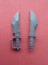 ORK BOYZ 2 X KNIVES / DAGGARS - Bits 40K