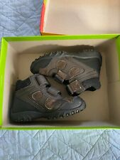 Boy's STRIDE RITE Rugged Ritchie Blk/Grey (Size: 9M) Pre-owned