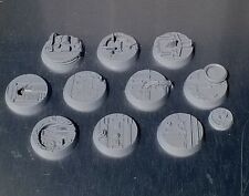 ShipScape 32mm Resin Bases Ten (10) Player Created Technical Space Ship Corridor