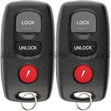 Fits 2001-2003 Mazda Protege Keyless Entry Remote Car Key Fob KPU41704 41704 2x