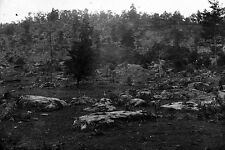 New 5x7 Civil War Photo: Rocky Face of Little Round Top, Battle of Gettysburg