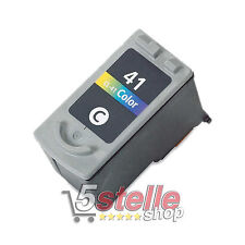CARTUCCIA COLORE CANON CL-41 PER MP140 MP150 MP160 MP170 MP180 MP210 MP220 REMAN