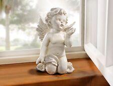 Engel Dekofigur Himmelsbote 24cm Grabdeko Grabschmuck Allerheiligen Weihnachten