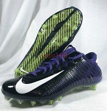 New Nike Vapor Carbon Elite Sz 12 Men VPR Purple Cleats 45 Football 657441 46