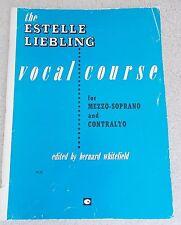 Estelle Liebling Vocal Course Mezzo Sop Contralto Piano Unmarked