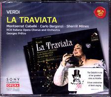 VERDI: LA TRAVIATA Montserrat CABALLE Carlo BERGONZI Sherrill MILNES PRETRE 3CD