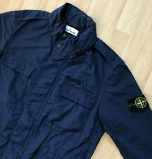 STONE ISLAND NAVY BLUE GARMENT DYED MICRO REPS FIELD JACKET L casuals