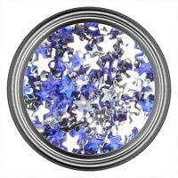 Dark Blue Star Rhinestone Gems Flatback Face Art Nail Art Jewels Decoration