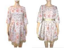 Jacquard Special Occasion Floral Dresses for Women