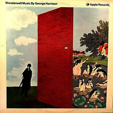 "GEORGE HARRISON ""Wonderwall Music"" Vinyl LP - 1968 1st US Press Apple ST-3350 EX"