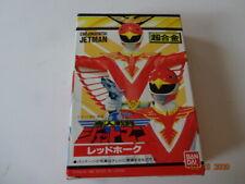 "1991 Bandai Japan Jetman Red Hawk Ranger Birdman Power Rangers 5"" Figure MINT!!"
