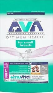 AVA Veterinary Approved Optimum Health small Breed Dry Puppy Food Chicken 2kg