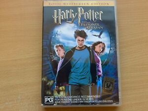 Harry Potter And The Prisoner Of Azkaban 2-Disc Widescreen Edition (DVD 2004) R4