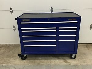 PROTO - Gloss Blue Heavy Duty Rolling Tool Cabinet J555041-10BLPDP