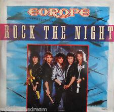 "EUROPE ~ Rock The Night ~ 12"" Single PS"