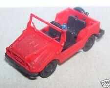 MICRO ROCO HO 1/87 ROCO AUTO UNION style JEEP POMPIERS