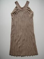ARDEN B. Women's Glittery Gold Greek Grecian Style Dress Viscose Pleated Small
