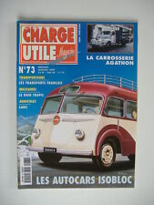 CHARGE UTILE 73 TRACTEUR LANZ-CAR ISOBLOC-PELLE HYDRAULIQUE YUMBO-AGATHON