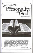 Understanding the Personality of God~Lynnford Beachy~Adventist Book~Trinity?~SDA