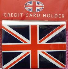 UNION FLAG UNION JACK DESIGN SILICONE CREDIT CARD HOLDER TRAVEL CARD HOLDER