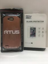 LG Xpower 2 Case~Rugged Case with Screen Protector Slim Cover ~Rose Gold