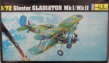 1/72 Heller 270 Gloster Gladiator I/II RAF WW2 Fighter Finland + Belgium 1940!