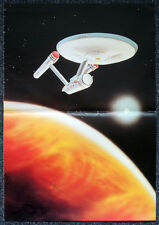 STAR TREK POSTER . USS ENTERPRISE . 7D