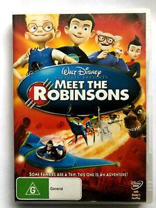 MEET THE ROBINSONS. WALT DISNEY PICTURES.  DVD