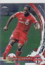 Topps Chrome Fußball Trading Cards
