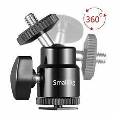 "SmallRig 761 Camera Cold Shoe to 1/4"" Threaded Adapter for Canon Nikon Fujifilm"