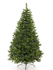 Christbaum Weihnachtsbaum künstlich 210 cm künstlicher Tannenbaum Tanne mit LED