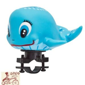 SUNLITE SQUEEZE WHALE BICYCLE HORN