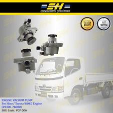 Engine Vacuum Pump For Toyota Dyna WU302 WU342 4.0L W04D (29300-78080)