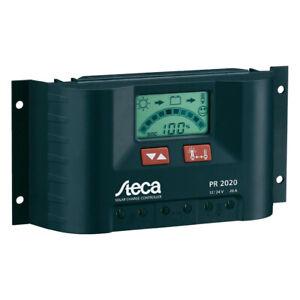 B-Ware Steca PR 2020 - 12V/24V Laderegler 20A PWM Laderegler mit LCD Display