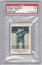 1951 Laval Dairy Lac St. Jean Hockey Card #4 Robert Desbiens Graded PSA 3