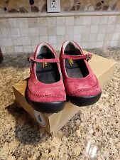 WOLVERINE SHOES MARY JANE BELLA WITH ICS RED BUCKLE STRAP WOMEN'S