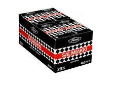 Fazer SALMIAKKI 40g x 20 packs original Finnish Salty Liquorice Pastilles