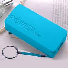 5600mAh 2X 18650 Battery Case Blue Portable USB Power Bank Case Charger Box DIY