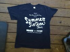 RARE DRAKE & FUTURE LOCAL CREW SUMMER SIXTEEN CONCERT TOUR 2016 T-SHIRT LG NICE
