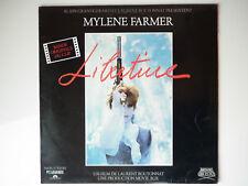 Mylene Farmer Maxi 45Tours vinyle Libertine bande originale du clip