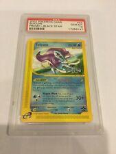 POKEMON Suicune #53 Nero Star Promo PSA 10 Pokémon 4 ever