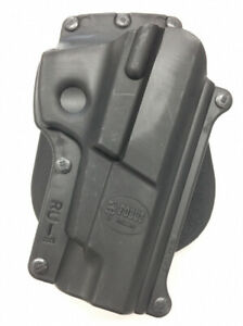 NEW Fobus RU1 RT Black Rotating Paddle Holster Right Hand for Ruger P89  Polymer