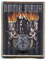 DIMMU BORGIR hell scene Embroidered Iron On PATCH **Free Shipping** death cult